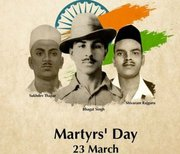 Bhagat Singh Remembered on Martyrs' Day