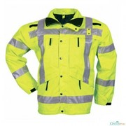 lime yellow safety neon jacket manufacturer