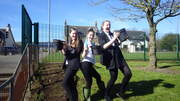 Kilwinning academy implementation day Kilwinning Angels
