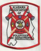 ALABAMA FIRE PATCHES