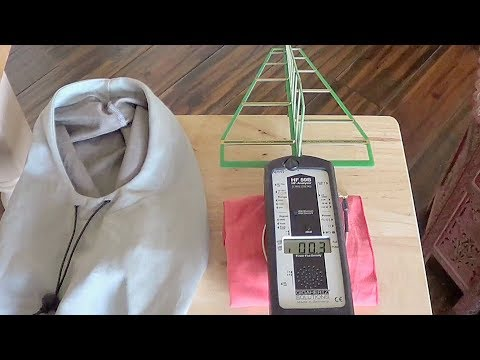 DO they work? EMF Protection Clothing RF Microwave Shielding Hat and Hood