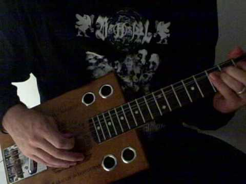 -  6 string cigar box guitar -