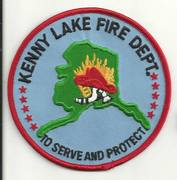 KENNY LAKE FIRE DEPARTMENT- KENNY LAKE, AK(VALDEZ-CORDOVA CENSUS AREA)