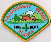 KALIFORNSKY BEACH FIRE DEPARTMENT- KASILOF, AK(KENAI PENINSULA BOROUGH)