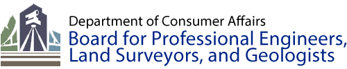 COVID-19 and Board for Professional Engineers, Land Surveyors, and Geologists