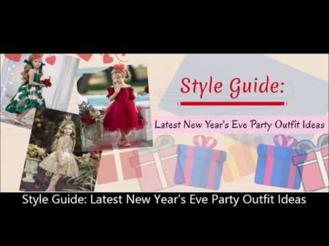 Style Guide Latest New Year's Eve Party Outfit Idea
