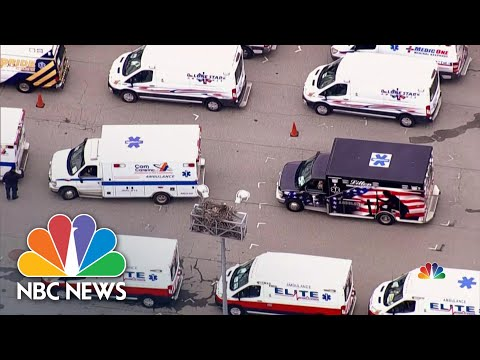 Coronavirus: Medical Workers Rush To New York City As Bed Spaces Fill Up   NBC Nightly News