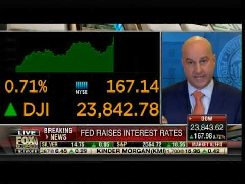 FED CHAIR SCREWS AMERICA: Announces New Rate Hike -- DOW DROPS 350 Points in 10 Minutes