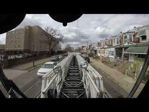 Philadelphia Ladder 23 Tiller, West Philly Box