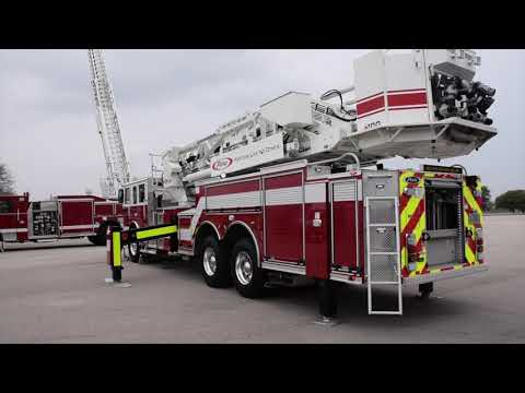 Truck Walk-Around: Pierce Ascendant 100' Mid-Mount Aerial Tower