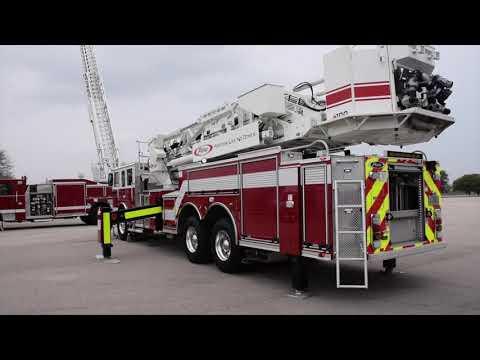 Truck Walk-Around: Pierce Ascendant 100' Mid-Mount Aerial Tower