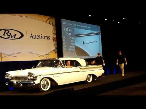 1957 Mercury Montclair Convertible Crosses the Block At the 2019 RM Sotheby's Hershey