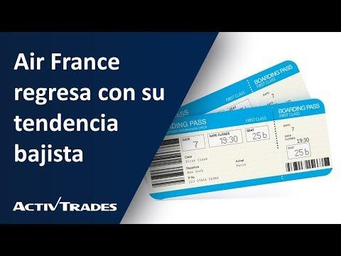 Video Análisis: Air France regresa con su tendencia bajista