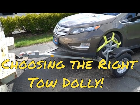 Acme EZE-Tow Stand Up car Dolly!  Almost everything you may need to know before buying a Dolly!