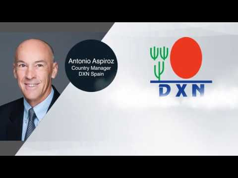 Cómo Usar los Productos DXN por Antonio Azpiroz, Country Manager DXN Spain