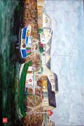 Quiberon, port Maria copier