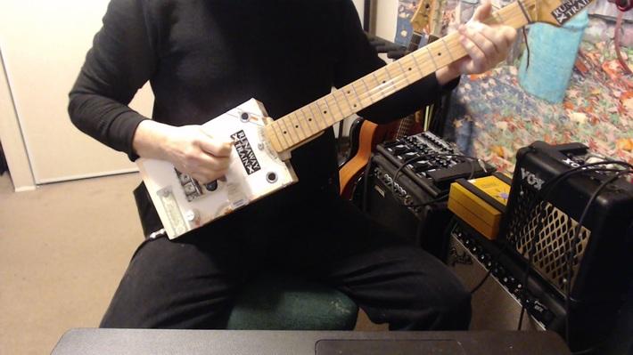 # 27 CBG - My first 6 string build.