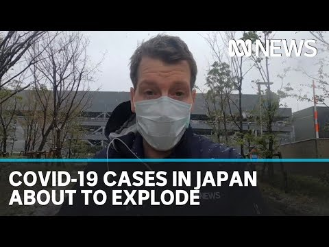 Japanese authorities warn coronavirus infection rates on the cusp of exploding | ABC News