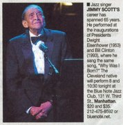 JIMMY SCOTT & V.I.P. Events & Friends ~