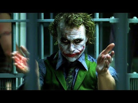 Joker Clapping Scene - The Dark Knight (2008) Movie Clip HD