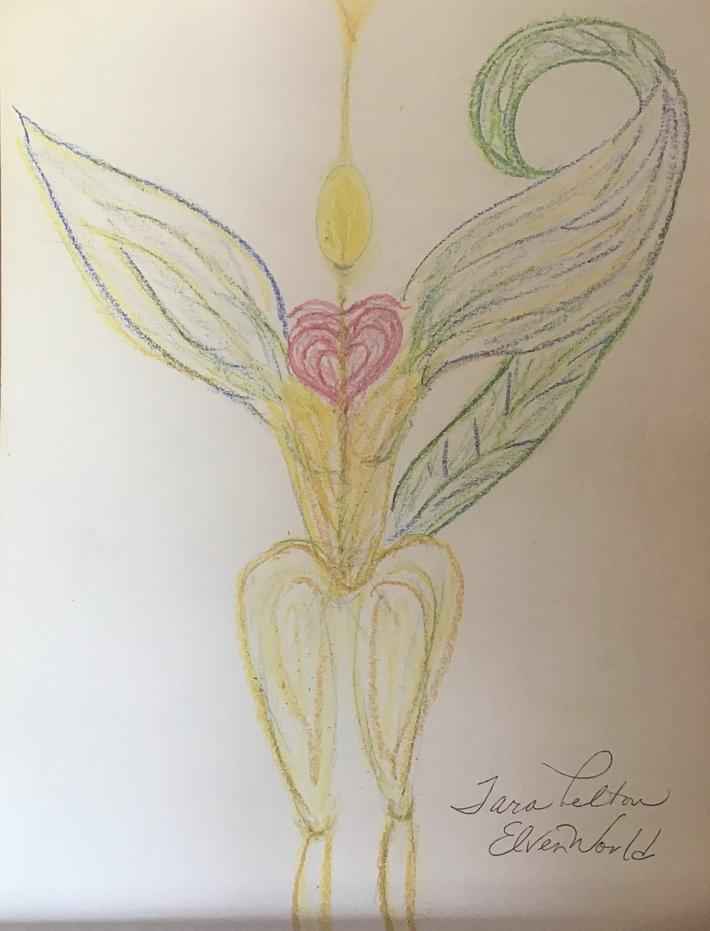Light Elven concept photo by Tara