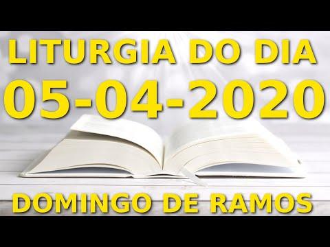 Evangelho do dia 05/04/2020 - Liturgia Diária, Salmo do Dia, Domingo de Ramos