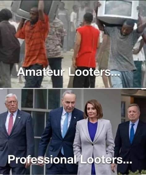 Professional looters