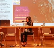 Ilaria Orefice at the Pacific Voice Conference in Krakow, Poland