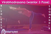Virabhadrasana { Warrior 3 pose}