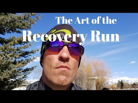 The ART of the RECOVERY RUN + (Altra Escalante)