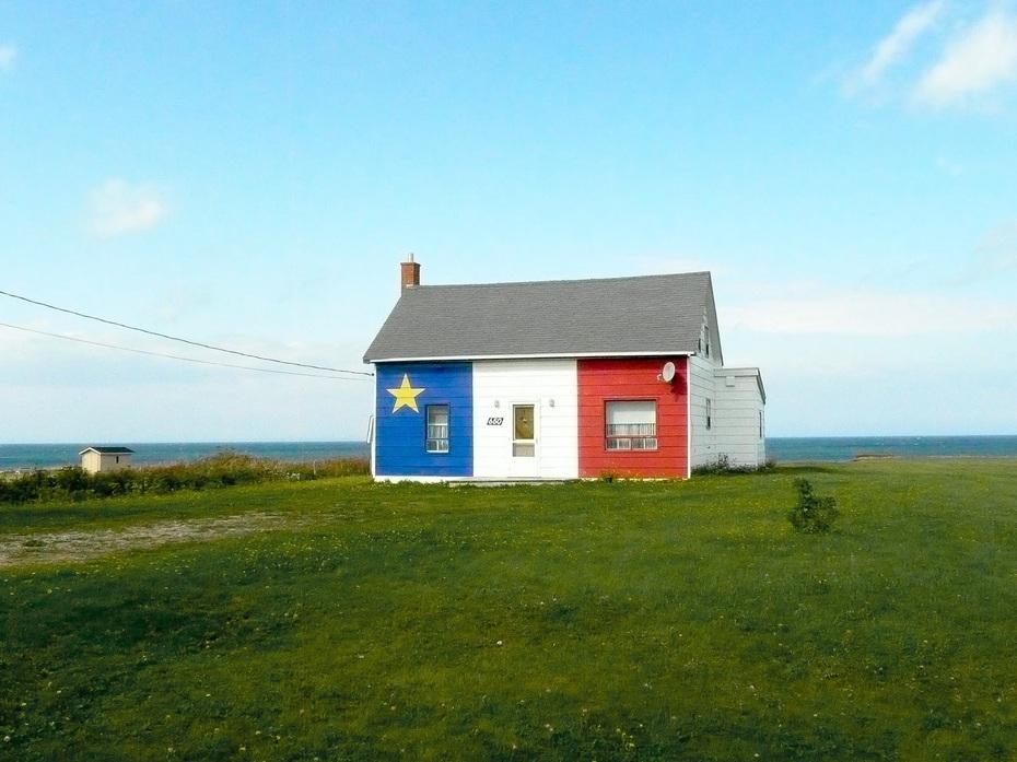 Acadian house, Gaspe Peninsula, Quebec
