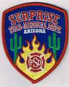 SURPRISE FIRE AND MEDICAL DEPARTMENT- SURPRISE, AZ(MARICOPA COUNTY)