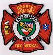 NOGALES FIRE AND MEDICAL DEPARTMENT- NOGALES, AZ(SANTA CRUZ COUNTY)