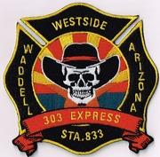 RURAL METRO FIRE DEPARTMENT ENGINE 883- WADDELL, AZ(MARICOPA COUNTY)