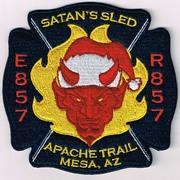 RURAL METRO FIRE DEPARTMENT ENGINE 857/RESCUE 857- MESA, AZ(MARICOPA COUNTY)
