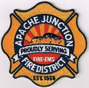 APACHE JUNCTION FIRE DISTRICT- APACHE JUNCTION, AZ(MARICOPA AND PINAL COUNTY)