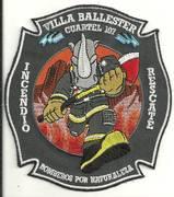 VILLA BALLESTER FIRE DEPARTMENT- VILLA BALLESTER, ARGENTINA(BUENOS AIRES PROVIDENCE)