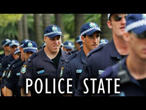 Australia - Beautiful one day. Police State the next.