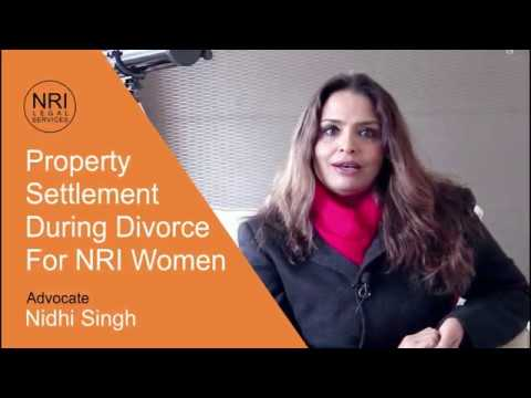 Property division during divorce for Indian woman
