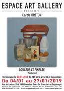 Affiche Carole BRETON