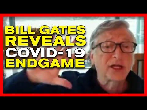 BUSTED! Bill Gates Slips, Reveals TERRIFYING Coronavirus ENDGAME, Ted Talk Covers It up