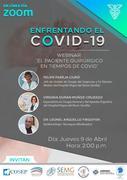 WEBINAR - Enfrentando al COVID 19
