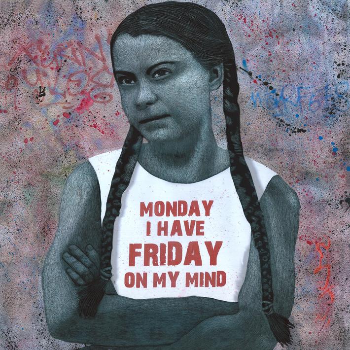 Monday I have friday on my mind
