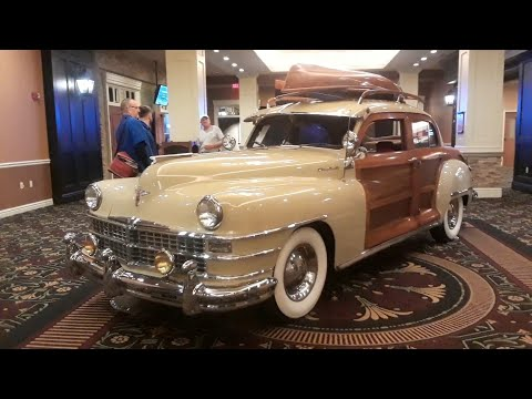 1948 Chrysler Town and Country Sedan A Classic, Woody, Sedan At the 2018 RM Sotheby's, Hershey