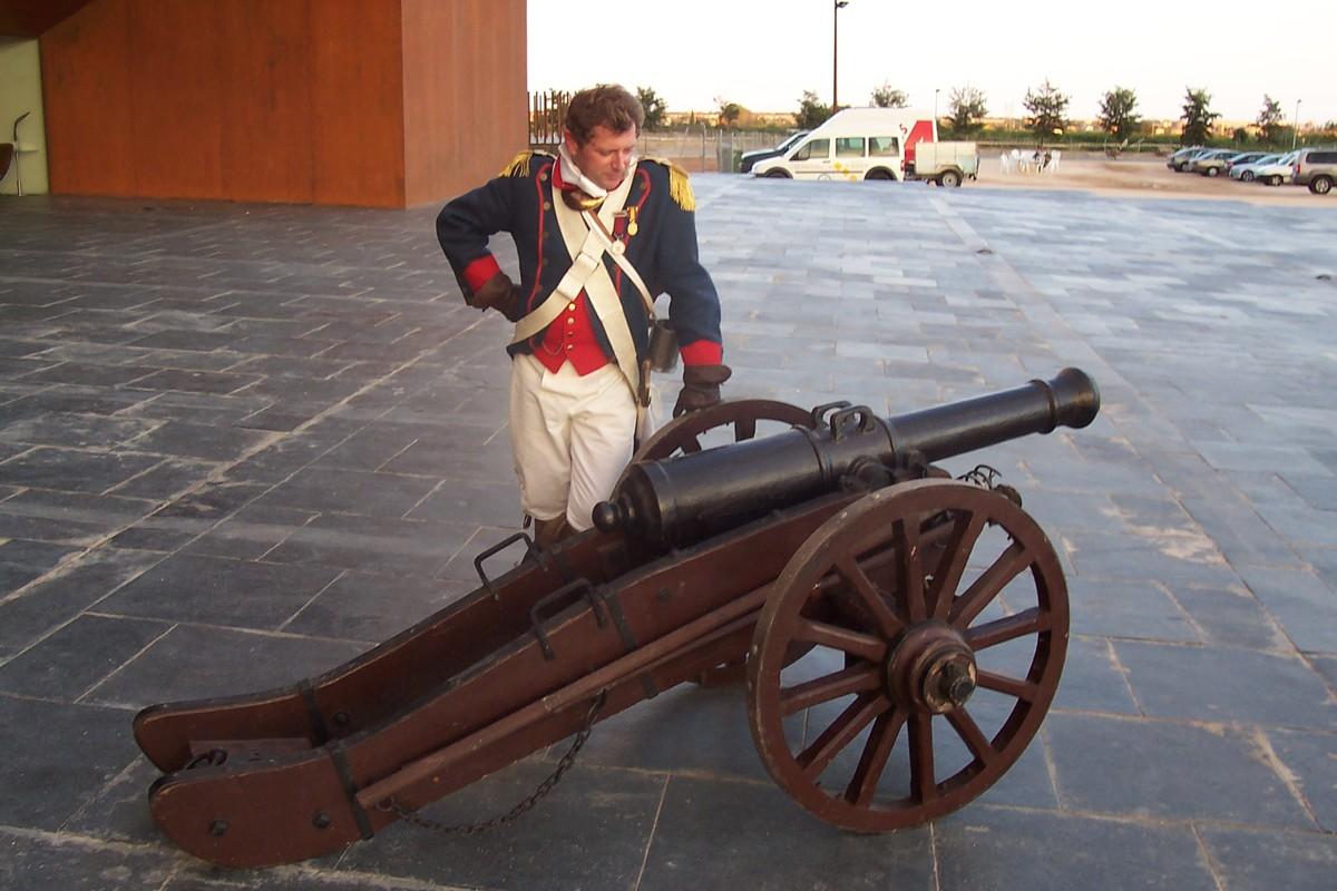 Acudimos a una recreación y exposición histórica y militar en Castellón