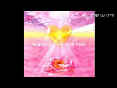 meditacion del rayo rosa