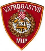 CROATIAN FIRE PATCHES