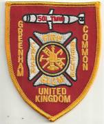 UNITED KINGDOM FIRE PATCHES