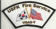 KOREA FIRE PATCHES