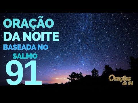 Oração da noite baseada no salmo 91